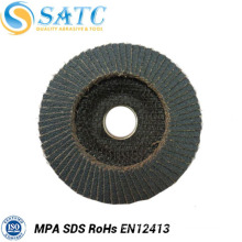 China manufacturers abrasive flap cutting disc with plastic fiber backing for polishing