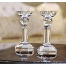 Transparente Kristall Kerzenhalter & Kerzenständer