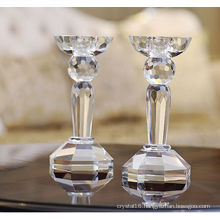Transparent Crystal Candle Holder & Candlestick