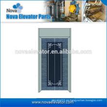 Paneles de la puerta de la aguafuerte del elevador con la decoración