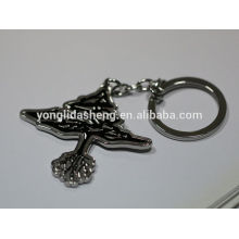 wholesale fashion zinc alloy material custom key chain metal