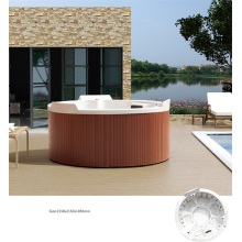 Outdoor Cicular Swim SPA Bathtub for Six People (BNG7016)
