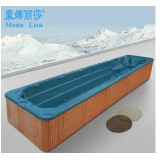 Monalisa 10 Meter Oceanside Acrylic Outdoor Swimming SPA Hot Tubs Square Massage Bathtub Whirlpools