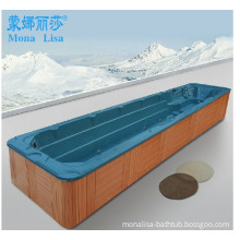 Monalisa 10 Meter Oceanside Acrylic Outdoor Swimming SPA Hot Tubs Square Massage Bathtub Whirlpools