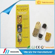 China manufacturer wholesale custom MAGNETIC BOOKMARK CLIP