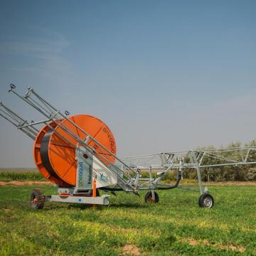 Modèles de flèche de système d'irrigation à enrouleur de tuyau d'incendie mobile