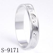 Joyería de los anillos de la boda / de compromiso de la plata esterlina de la manera (S-9171)