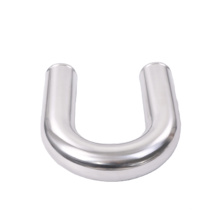 4 inch diameter 180 degree SS pipe mandrel bending in stock