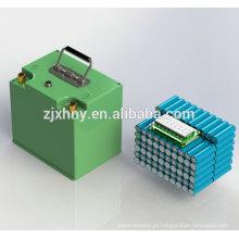 """Bateria recarregável de 48V 20Ah para o """"trotinette"""" elétrico"""