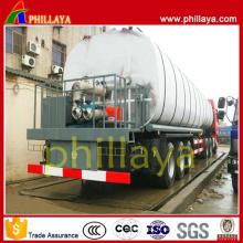 Chauffage Asphalt Bitument Tank Semi-Remorque
