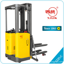 High reputation for Full Electric Stacker With Platform Xilin CDD-C narrow aisle lift truck export to Guatemala Suppliers