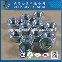 Fabricado en Taiwán DIN 980 Todas las Tuercas de Metal Prevailing y Tuercas de Fijación