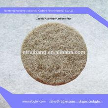 Filtro de aire de carbón activado zeolita