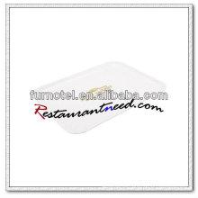 V289 Bandeja de exhibición de melamina de color trigo