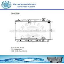 Radiador de aluminio para TOYOTA ES350 07-08 16400AD020 Fabricante y Venta directa