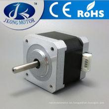 Motor de paso a paso NEMA17 solo / Dual Shaft 1.68A / 62oz-in para impresora CNC Reprap 3D