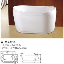 Tragbare Acryl Hot Tub Wtm-02111