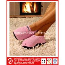 Арома-розовый рекламный зимний подарок тапочки