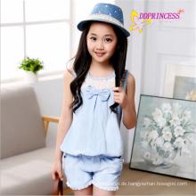 Großverkauf Korea-Artbaumwollcowboy-Overalls-Mädchen siamesische Hosen für Mädchen