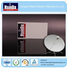 Recubrimiento en polvo de acrílico antiproyección en polvo para TV por satélite