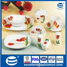 hot sale ceramic dinner set for daily-use EX7370