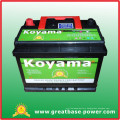 2015 Hotsell Wet Car Battery 55530-12V55ah Auto Battery
