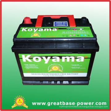 2015 Hotsell nasse Autobatterie 55530-12V55ah Selbstbatterie