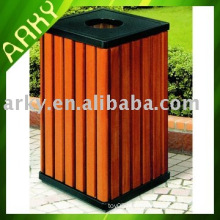Good Quality Outdoor Wooden Dustbin