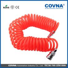 Tubería de poliuretano Conector rápido Tubo neumático de aire comprimido 8mmx5mm