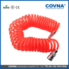 Polyurethane Pipe Quick Connector Coiled Air Pneumatic Tube 8mmx5mm