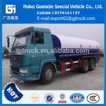 Camión del tanque de agua de 6X4 20000L HOWO / camión del transporte del agua / camión del regadera del agua / regadera del aerosol de agua / camión del tanque de agua inoxidable