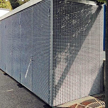Galvaniserad Steel Bar Grating Container