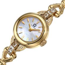 Stainless steel bracelet watches for ladies