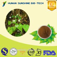 Высокое качество растительный экстракт порошок/эпимедиум sagittatum /50% 98% горянки