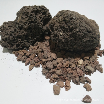 Meios de filtro baratos da rocha vulcânica para o tratamento da água
