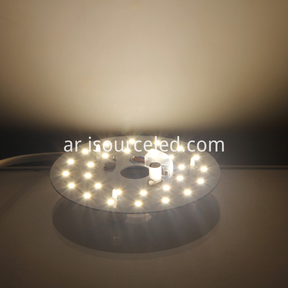 smd 2835 Warm White 9W AC LED Module