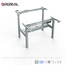 Orizeal ergonomic computer desk,adjustable computer stand,sit stand workstation(OZ-ODKS057D-2)