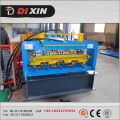 Dx 980 rodillo de plataforma de piso de acero formando la máquina