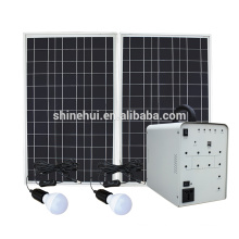 Integrated Solar lighting system for home use