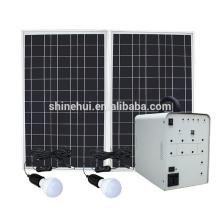 Sistema de iluminação solar integrado para uso doméstico