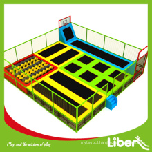 free designed indoor trampoline for park with ASTM certificate