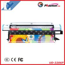 Impressora solvente exterior barata do grande formato do Phaeton de 3.2m (UD-3206P)