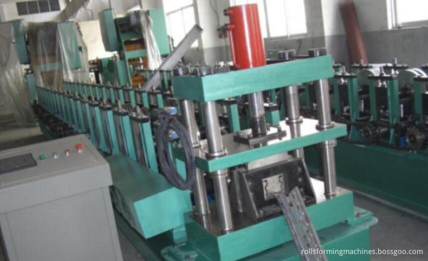 upright rack roll forming machine decoiler machine