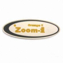 Remiendo de goma de la manera, etiqueta de goma, insignia de goma ZGA-RL14