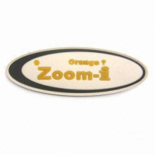 fashion rubber patch,rubber label,rubber badge ZGA-RL14