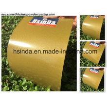 Порошковое покрытие с порошковым напылением и металлическим бронзовым покрытием