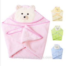 Hooded baby towel super fluffy premium baby bath towel Suit for Boys & Girls bear face baby towel
