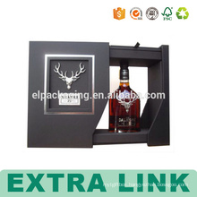 Wholesale Folding Wine Paper Box Bottle With Insert