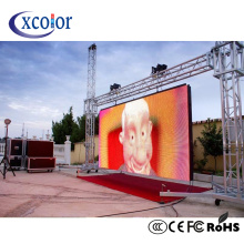 Outdoor Rental Cabinet P3.91 LED Display Panel