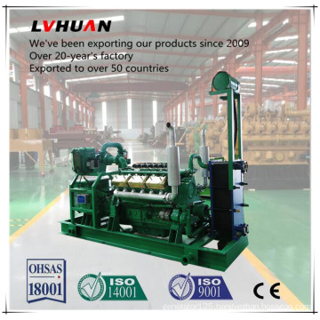 Wood Chips Straw Produce Electricity Biomass Gas Generator